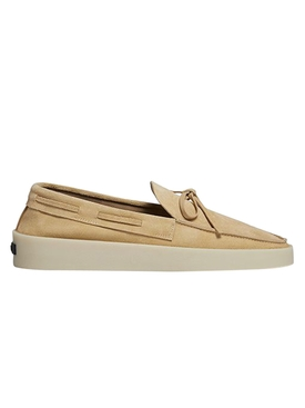 FEAROFGODZEGNA driving loafer camel