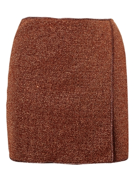 Lumiére mini skirt, brown