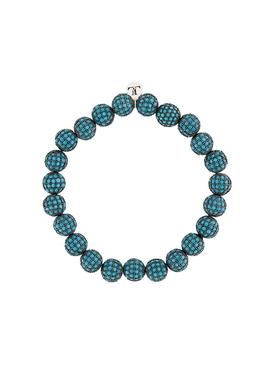 Teal Crystal Pavé Bracelet