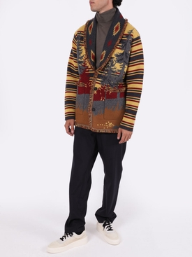 Fierce spirit cashmere cardigan