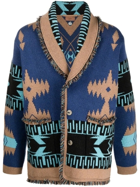 REGENERATED ICON CARDIGAN Atlantis Blue