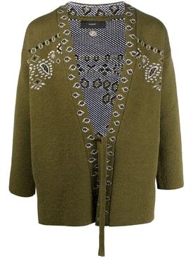Caravan mood bandana kimono OLIVE GREEN