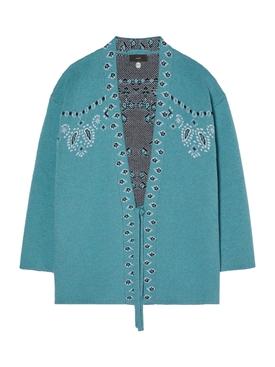 Caravan mood bandana kimono SUGAR BLUE
