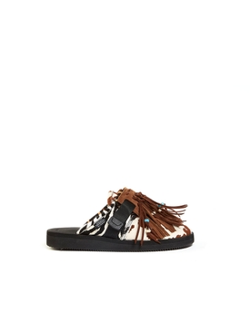 Animal patchwork suicoke loafer
