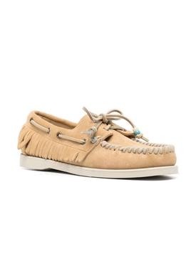 x Sebago Dockside moccasin loafer, beige