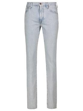 San pedro wash denim pants, light blue
