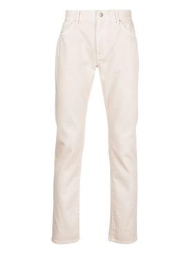 Saguaro wash denim pants sand beige