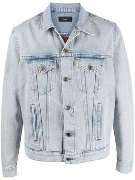 Dusty Road Bandana T&D Jacket, Light Blue