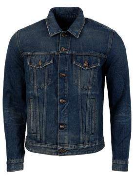 The monument valley horse denim jacket, deep blue