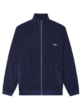 Navy Terry logo Jacket