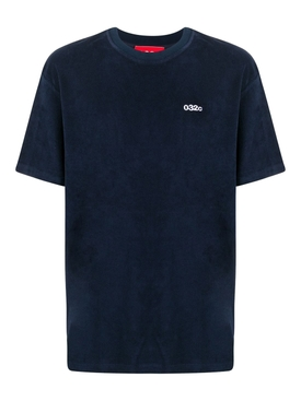 Navy terry t-shirt