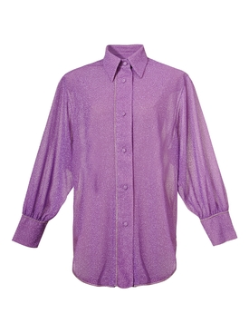 Lumière button down shirt, lilac