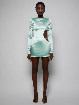 Ice Mint Mini Dress