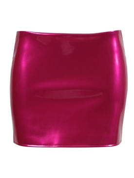 Hot pink Low Slung mini skirt