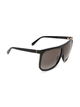 Oversized Filipa Sunglasses Shiny Black