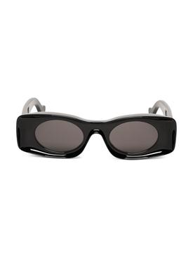 Paula's Ibiza Injected Sunglasses Shiny Black