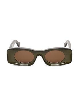 Paula's Ibiza Injected Sunglasses Khaki