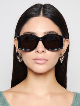 Paula's Ibiza Large Sunglasses Black