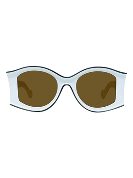 White large sunglasses