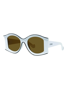 X PAULA'S IBIZA White large sunglasses