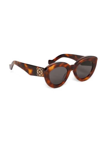 Loewe Tortoiseshell Effect Cat-eye Sunglasses Havana Brown