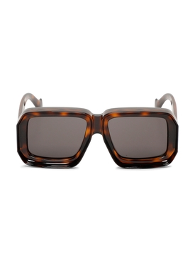 Paula's Ibiza Injected Sunglasses Havana Brown