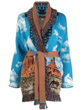 THE MONUMENT VALLEY HORSE CARDIGAN