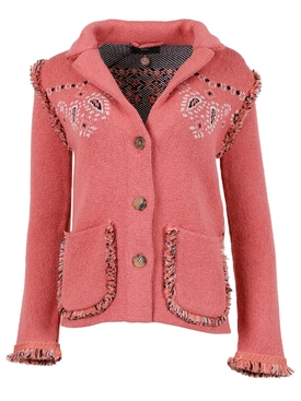 CARAVAN MOOD BANDANA JACKET, BUBBLE PINK