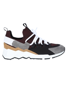 Trek comet lace-up sneakers Burgundy