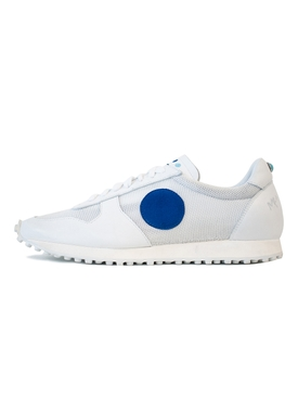 La Runner White Leather Sneakers
