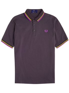 Classic logo polo shirt ANCHOR GREY