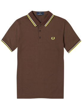 Classic logo polo shirt DARK CHOCOLATE