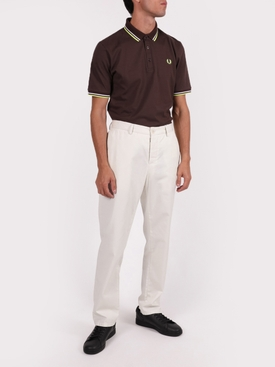 Classic logo polo shirt DARK CHOCOLATE