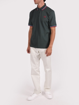 Classic logo polo shirt DEEP BOTTLE GREEN