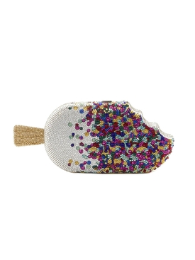 Judith Leiber - Embellished Popsicle Sprinkles Box Clutch - Women