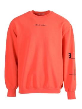 AA Grid Logo Crew-neck Sweatshirt