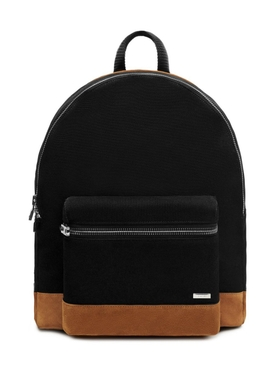 Classic canvas backpack, black