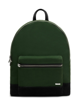 Classic canvas backpack, green