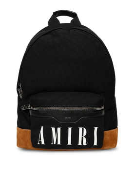 CANVAS CLASSIC BACKPACK Black and Cognac