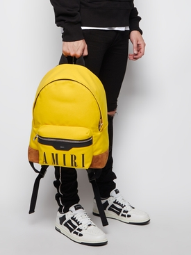 CANVAS CLASSIC BACKPACK Soleil and Cognac
