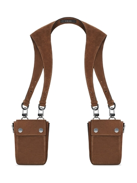 Tobacco Suede Harness bag