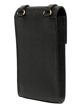 crossbody phone holder black