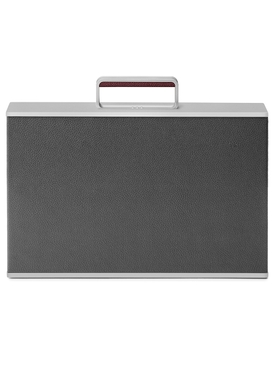 The Webster x Charles Simon Graphite Mackenzie Aluminum briefcase