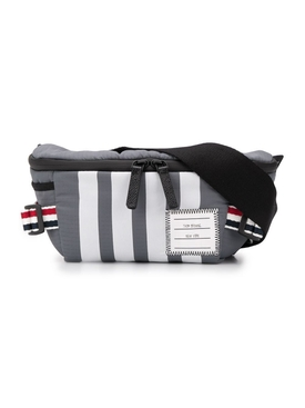 4-Bar Grey Belt Bag
