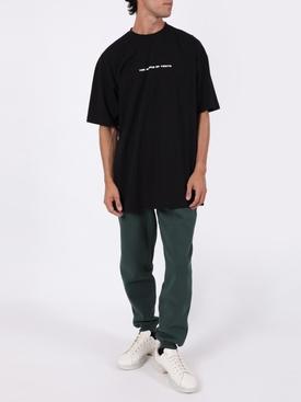 Dark green Polizei sweatpants