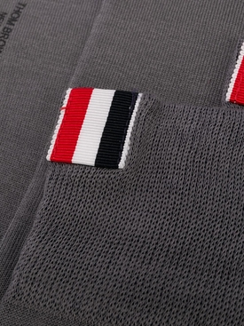 Medium Grey 4-Bar Stripe Socks