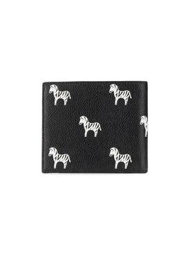 Zebra print billfold wallet