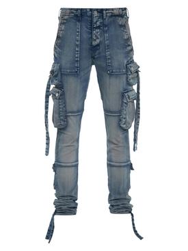 Clay Indigo Tactical Cargo Pants