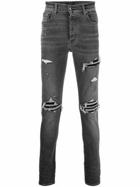 Distressed MX1 Jean Classic Grey