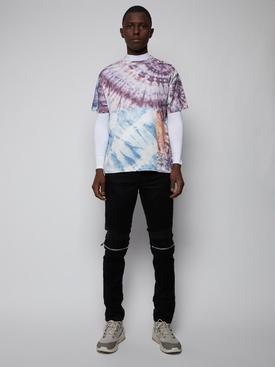 MX2 Skinny Jean, Black Waxed